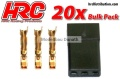 Stecker Gold Servo JR Stecker Bulk (20 Stück)