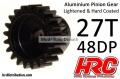 Motorritzel 48DP Stahl leicht 27Z